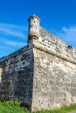 Cartagena, Colombia Wall Corner royalty free stock images