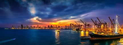 Cartagena, Columbia. Cartagena Columbia in the evening hour Royalty Free Stock Images