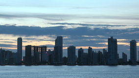 Cartagena - Columbia Skyscapers stock video
