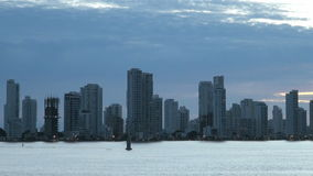 Cartagena - Columbia  Skyscapers stock video footage