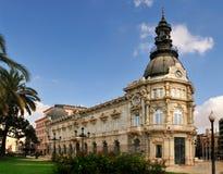 cartagena consistorial palacio Royaltyfri Foto