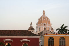 Cartagena de Indias architecture. Colombia Stock Photo
