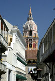 Cartagena de Indias architecture. Colombia Stock Images