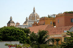 Cartagena de Indias architecture. Colombia Stock Photography