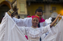 Cartagena de Indias celebration Royalty Free Stock Image