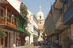 Cartagena de Indias, Colômbia fotografia de stock