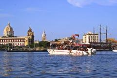 Cartagena de Indias Docks, Colombia Stock Image