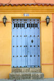 Cartagena de Indias Doorway Stockfotografie