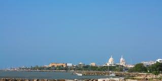 Cartagena de indias. Panorâmico, Colômbia foto de stock