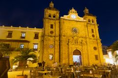 Cartagena domkyrka royaltyfri fotografi