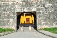 Cartagena Entrance Stock Photography