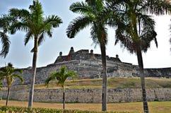 Cartagena-Festung stockbild
