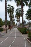 Cartagena footpath  , Spain Stock Photos