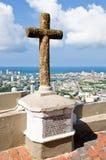 Cartagena-frommes Kreuz lizenzfreie stockfotografie