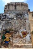 Cartagena grafitti Fotografering för Bildbyråer