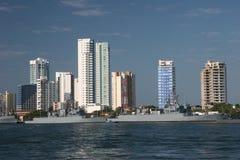 Cartagena-Hafen stockfoto