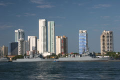 Cartagena harbor Stock Photo