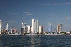 Cartagena harbor Stock Photos