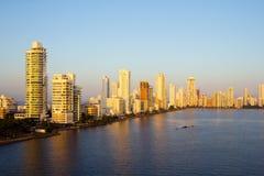 Cartagena i morgonljuset Royaltyfria Bilder