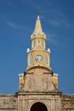 Cartagena klockatorn Arkivfoton
