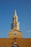 Cartagena klockatorn Fotografering för Bildbyråer