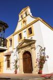 Cartagena kościół Obrazy Royalty Free