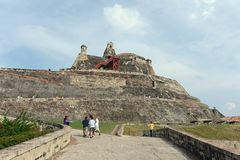 Cartagena. Kolumbia Fotografia Royalty Free