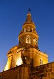 Cartagena Kolumbia Zegarowy wierza Zdjęcia Royalty Free