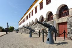 Cartagena. Kolumbien stockbild