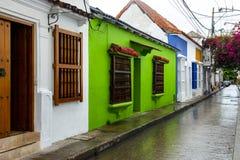 Cartagena Kolumbien, alte Stadt, Reise lizenzfreie stockbilder