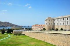 Cartagena in the Mediterranean coast Royalty Free Stock Photos