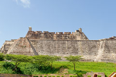 cartagena miasta ściany Obraz Royalty Free
