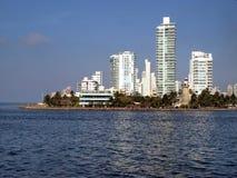 Cartagena modern architecture Royalty Free Stock Photo
