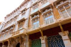 Cartagena modernistiska byggnader i Murcia Spanien Fotografering för Bildbyråer