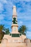Cartagena Murcia Cavite heroes memorial in Spain Royalty Free Stock Images