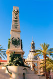 Cartagena Murcia Cavite heroes memorial Spain Royalty Free Stock Image