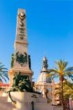 Cartagena Murcia Cavite heroes memorial Spain Royalty Free Stock Image