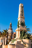 Cartagena Murcia Cavite heroes memorial Spain Stock Images