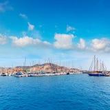 Cartagena Murcia port marina in Spain Royalty Free Stock Image