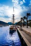 Cartagena Murcia port marina in Spain Stock Photos