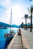 Cartagena Murcia port marina in Spain Royalty Free Stock Photography