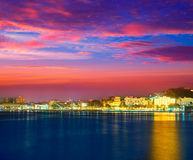 Cartagena Murcia port skyline in Spain Stock Photo