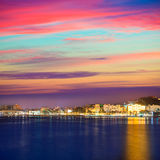 Cartagena Murcia port skyline in Spain Stock Photography