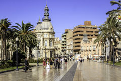 Cartagena, Murcia, Spanje Stock Afbeelding