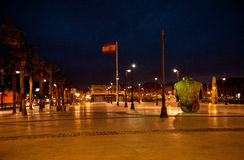 Cartagena, night tome Royalty Free Stock Images