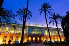 Cartagena Obras del Puerto sunset Murcia Stock Images