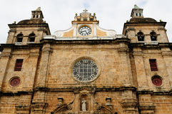 Cartagena one of more beautiful tourist towns located in Colombia stock photo