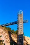 Cartagena Panoramic lift elevator Murcia Spain Stock Image