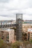 Cartagena Panoramic lift elevator Murcia Spain Royalty Free Stock Photography