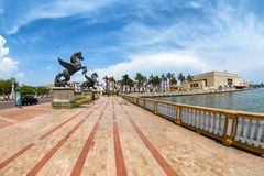 Cartagena Pegasus statues Stock Photos